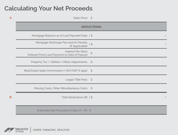 closing cost calculator sheet